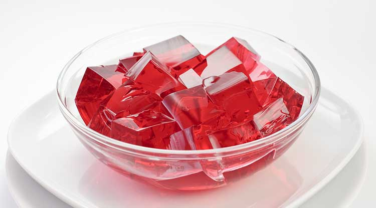 bowl of jello